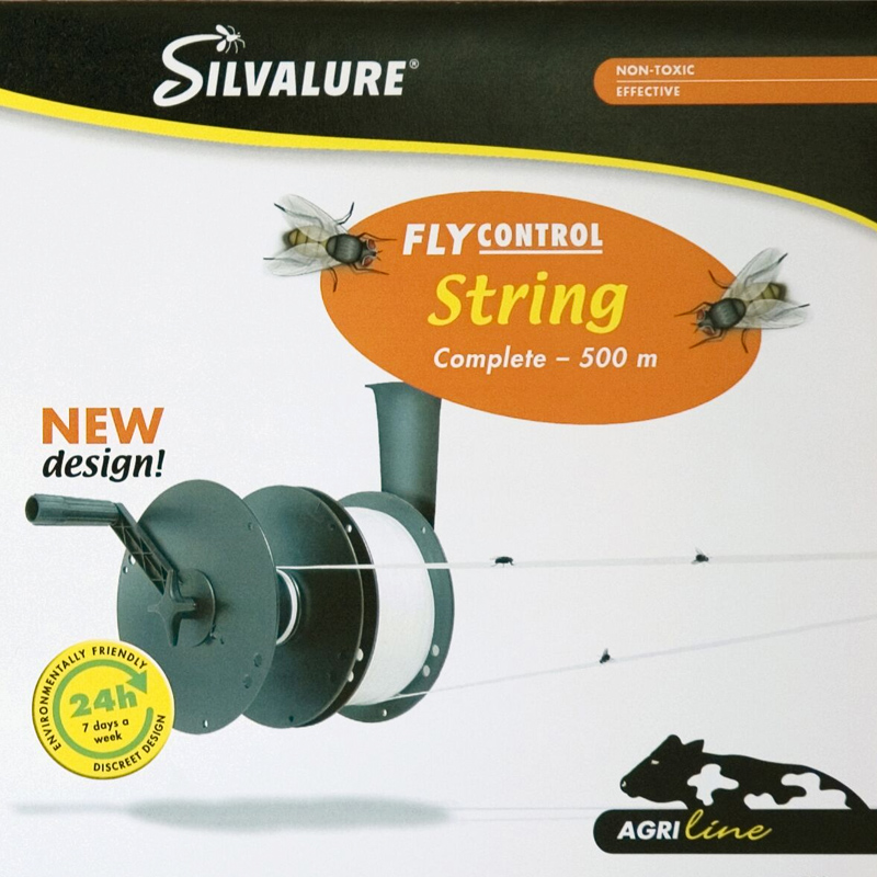 Silvalure fly string